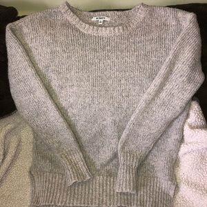 Gray sweater BB Dakota L